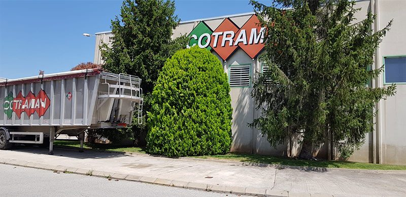 Exteriors nau Cotraman, SCCL