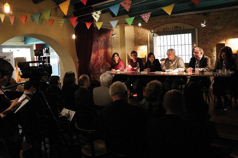 Presentació general de La Sargantana, SCCL a l'Ateneu Barcelona Nord